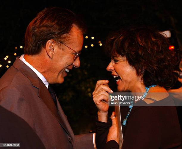 James Woods and Stockard Channing during ATAS Honors the 55th Annual Primetime Emmy Award Nominees Inside at Spago in Beverly Hills California United...