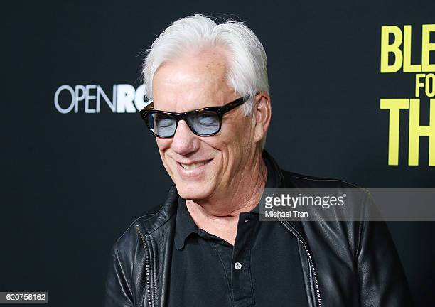 James Woods arrives at the Los Angeles premiere of Open Road Films' Bleed For This held at Samuel Goldwyn Theater on November 2 2016 in Beverly Hills...