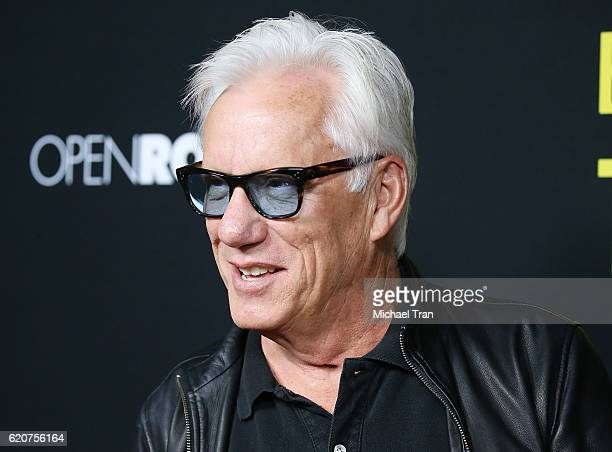 James Woods arrives at the Los Angeles premiere of Open Road Films' 'Bleed For This' held at Samuel Goldwyn Theater on November 2 2016 in Beverly...