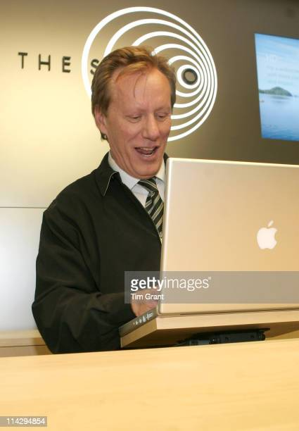 James Woods during Apple Store 5th Avenue Opening at Apple Store, 5th Avenue in New York, New York, United States.