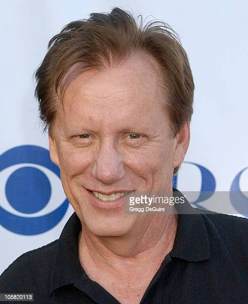 James Woods during CBS Summer 2006 TCA Press Tour Party - Arrivals at Rose Bowl in Pasadena, California, United States.