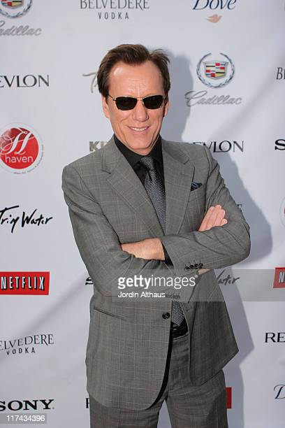 James Woods during Haven House 2007 Oscar Suite - Day 3 at Private Residence in Beverly Hills, California, United States.