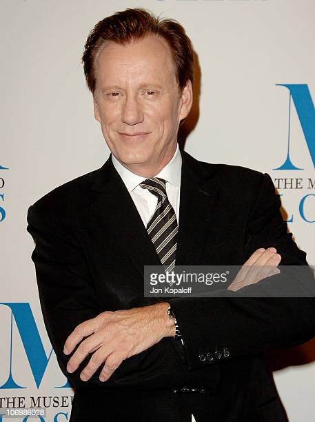 James Woods during The Museum of Television & Radio Honors Leslie Moonves and Jerry Bruckheimer - Arrivals at Beverly Wilshire Hotel in Beverly...
