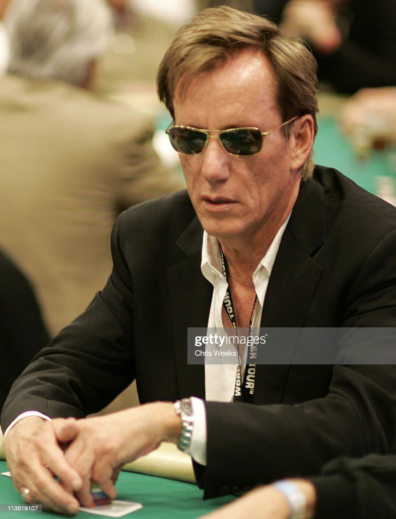 James Woods during World Poker Tour Invitational at Commerce Casino in Commerce, California, United States.