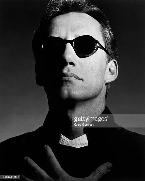 James Woods is photographed for Framed For LA Eyeworks on January 1 1982 in Los Angeles California