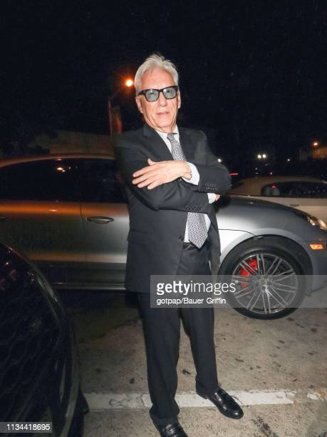 James Woods is seen on April 01, 2019 in Los Angeles, California.
