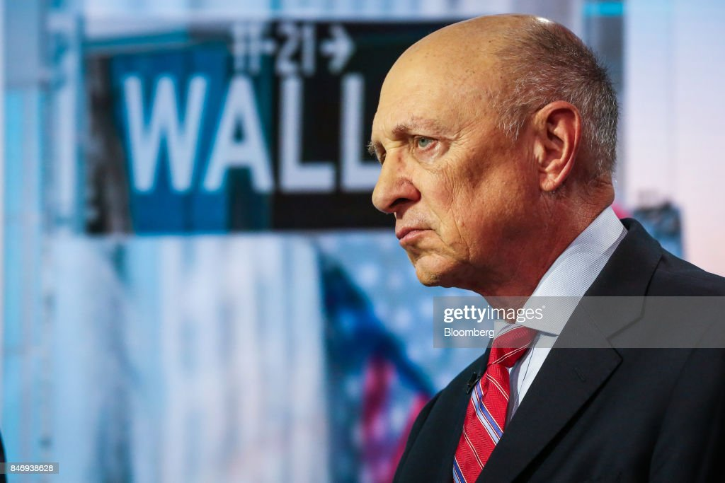 James Woolsey, former director of the Central Intelligence Agency (CIA), listens during a Bloomberg Television interview in New York, U.S., on Thursday, Sept. 14, 2017. Woolseydiscussed the Trump Administration's strategy in dealing with threats from North Korea. Photographer: Christopher Goodney/Bloomberg via Getty Images
