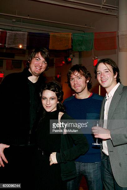James Worden Shara Worden Aaron Dessner and CJCamerieri attend AFTER PARTY FOR THE TIBET HOUSE US ANNUAL BENEFIT CONCERT AT CARNEGIE HALL at...