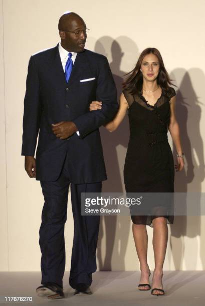 James Worthy Anastasia Myskina during WTA Stars in Fashion Show to Benefit City of Hope Staples Center Foundation and Sanax WTA Tour Charities at The...