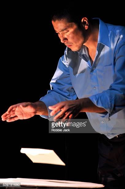 James Yaegashi as Toru Okada in Stephen Earnhart and Greg Pierce adaptation of the novel by Haruki Murakami 'The WindUp Bird Chronicle' directed by...