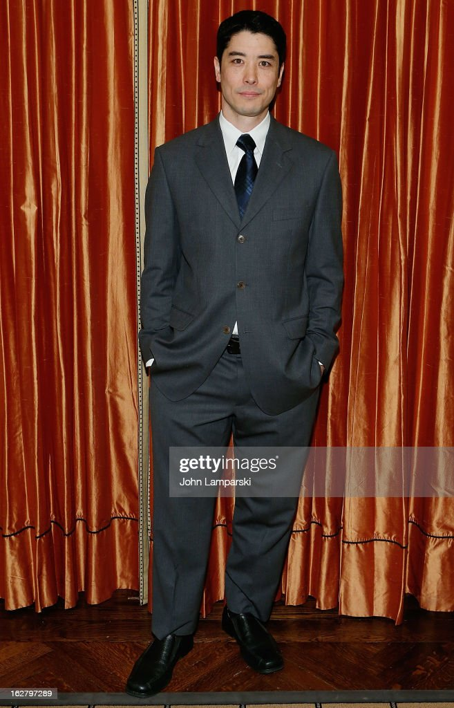 James Yaegashi attends the 'Breakfast At Tiffany's' Press Preview at Cafe Carlyle on February 27, 2013 in New York City.