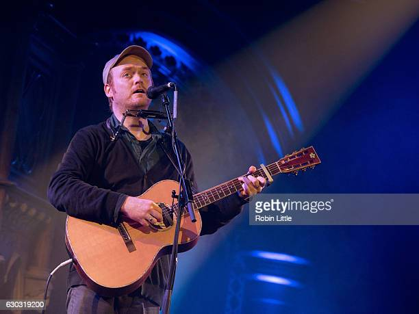 James Yorkston performs at the Union Chapel on December 20 2016 in London United Kingdom