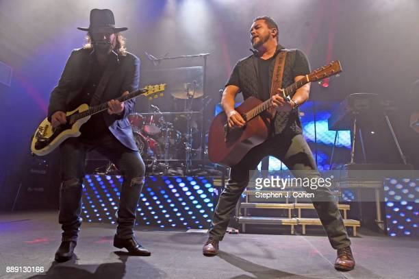 James Young and Mike Eli of the Eli Young Band performs at Mercury Ballroom on December 9 2017 in Louisville Kentucky