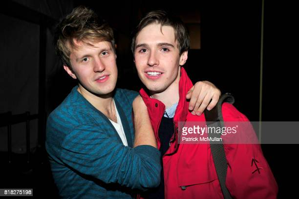 Jameson Eaton and Andrew Nodell attend Closing Party for Bryant Park Tents at Bryant Park on February 18 2010 in New York City