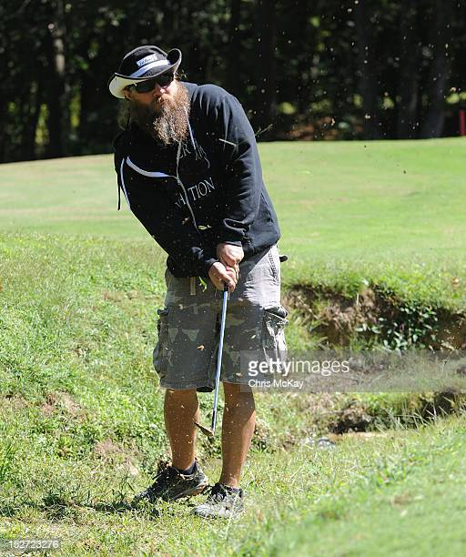 Jamey Johnson attends the 2012 Colt Ford Friends Celebrity Golf Classic at Legends Golf Course Club on September 24 2012 in Braselton Georgia