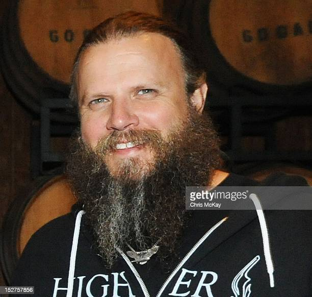 Jamey Johnson attends the concert following the 2012 Colt Ford Friends Celebrity Golf Classic at Legends Golf Course Club on September 24 2012 in...