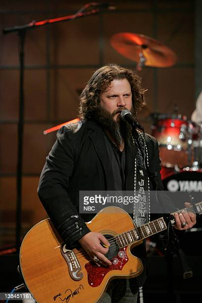 LENO Jamey Johnson Episode 3706 Air Date Pictured Musical guest Jamey Johnson performs on February 5 2009