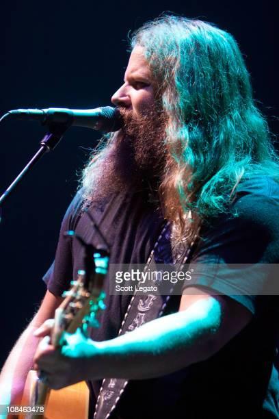 Jamey Johnson performs at Huntington Center on January 26 2011 in Toledo Ohio
