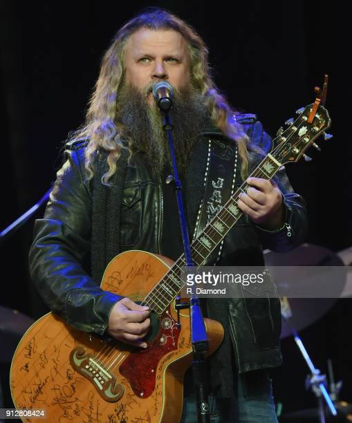 Jamey Johnson performs at Singer/Songwriter/Comedian Member of both The Nashville Songwriters Hall of Fame and Country Music Hall of Fame Mel Tillis...