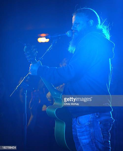 Jamey Johnson performs in concert following the 2012 Colt Ford Friends Celebrity Golf Classic at Legends Golf Course Club on September 24 2012 in...