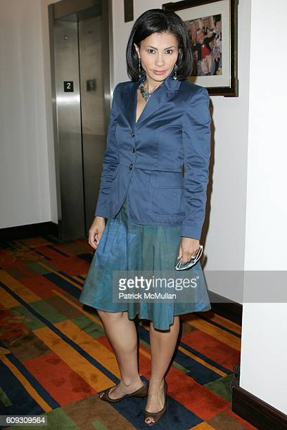 Jami Floyd attends MARTHA STEWART SIRIO MACCIONI and ANDREW BORROK Host a Lucheon to Celebrate 'NO RESERVATIONS' at Le Cirque on July 26 2007 in New...