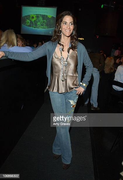 Jami Gertz during 3rd Annual Painted Turtle Bingo at the Roxy at The Roxy in West Hollywood California United States
