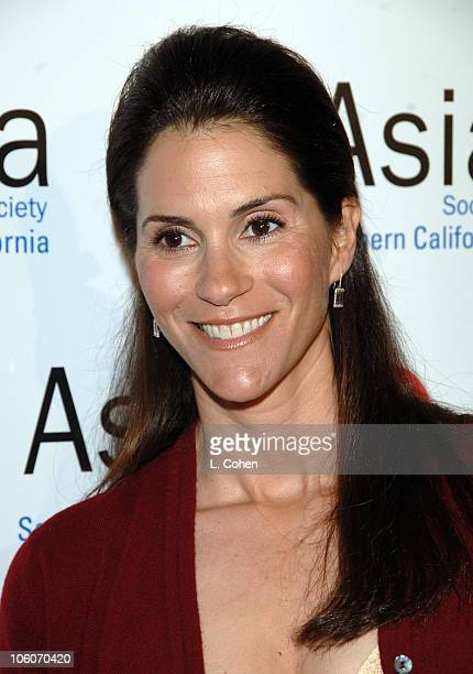 Jami Gertz during Asia Society So. California - 2006 Annual Gala at Beverly Hilton Hotel in Beverly Hills, California, United States.