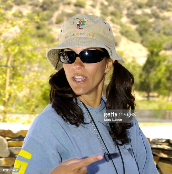 Jami Gertz during Dedication of The Painted Turtle Camp at The Painted Turtle Camp in Lake Hughes, California, United States.