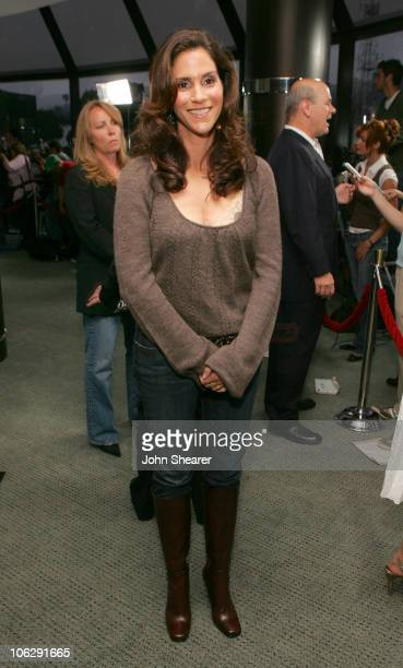 Jami Gertz during Keeping Up With The Steins Los Angeles Premiere Red Carpet at Pacific Design Center in Los Angeles California United States