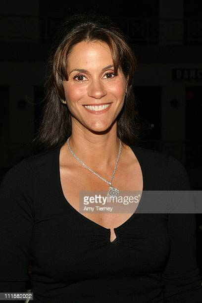 Jami Gertz during Lifetime Television's Fighting the Odds Screening in Los Angeles California United States