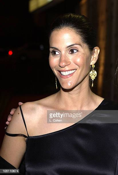 """Jami Gertz during Opening Night of """"The Producers """"- Curtain Call & After Party at Pantages Theatre in Hollywood, California, United States."""