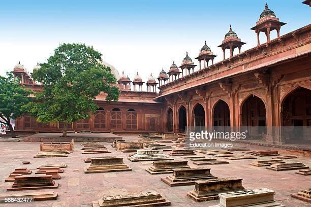 Jami Mashid Mosque. Fatehpur Sikri. Uttar Pradesh. India.