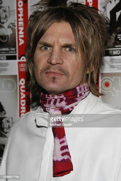 Jami Patrick during Quadrophenia Musical Theatre Performance at The Avalon in Hollywood California United States