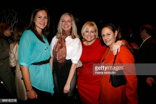 Jami Supsic Jill Dryer Christine Phillips and Barbara Nixon attend NY Launch Party for The TONY DUQUETTE Textile Collection for JIM THOMPSON created...