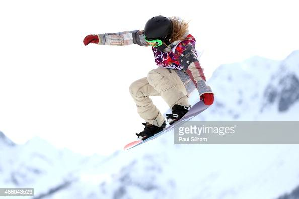 Jamie Anderson of the United States competes in the Women ...