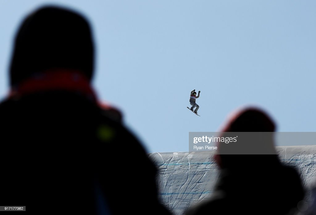 Jamie Anderson of USA competes in the Snowboard Ladies' Slopestyle Final on day three of the PyeongChang 2018 Winter Olympic Games at Phoenix Snow Park on February 12, 2018 in Pyeongchang-gun, South Korea.