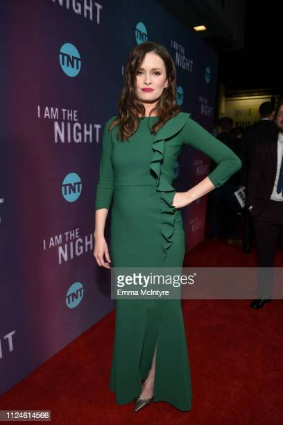 Jamie Anne Allman attends the I Am The Night Los Angeles Premiere on January 24 2019 in Los Angeles California 484213