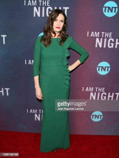 Jamie Anne Allman attends the Premiere Of TNT's 'I Am The Night' at Harmony Gold on January 24 2019 in Los Angeles California