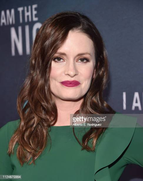 Jamie Anne Allman attends the premiere of TNT's I Am The Night at Harmony Gold on January 24 2019 in Los Angeles California