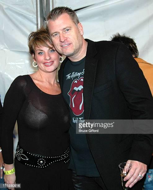 Jamie Ashe and Joe Simpson during 2005 Radio Music Awards Backstage - Aces.com Raises Money for Make a Wish Foundation at Aladdin Hotel in Las Vegas,...
