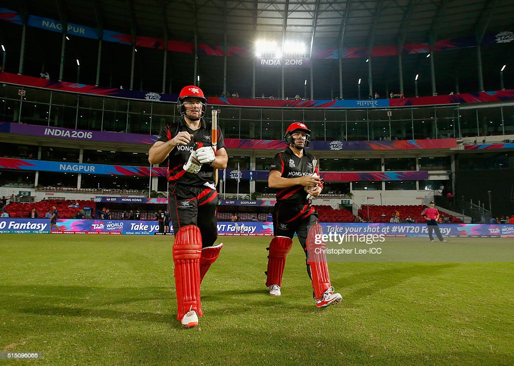 ICC World Twenty20 India 2016:  Scotland v Hong Kong