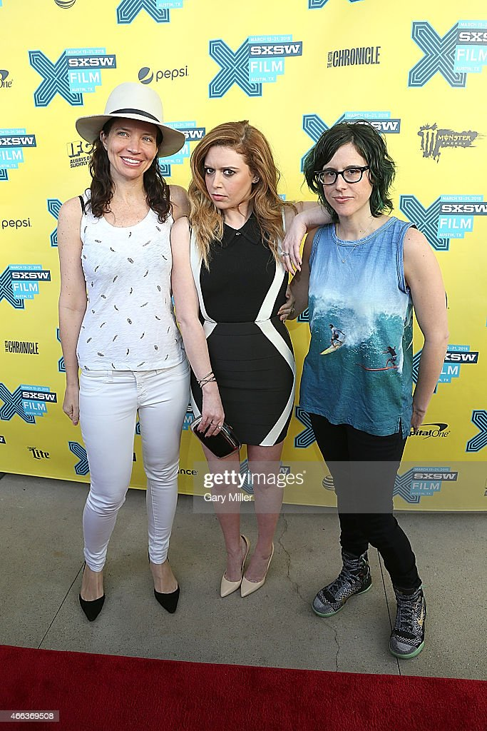 Jamie Babbit, Natasha Lyonne and Karey Dornetto pose on the red carpet for the screening of 'Fresno' at the Topfer Theater during the South by Southwest Film Festival on March 14, 2015 in Austin, Texas.