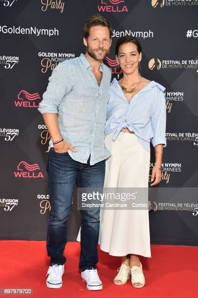 Jamie Bamber and his Wife Kerry Norton attend the Golden Nymph Nominees Party at the Monte-Carlo Bay Hotel on June 19, 2017 in Monte-Carlo, Monaco.