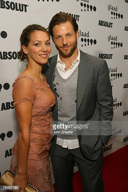 Jamie Bamber and Kerry Norton at the Kodak Theater in Los Angeles California