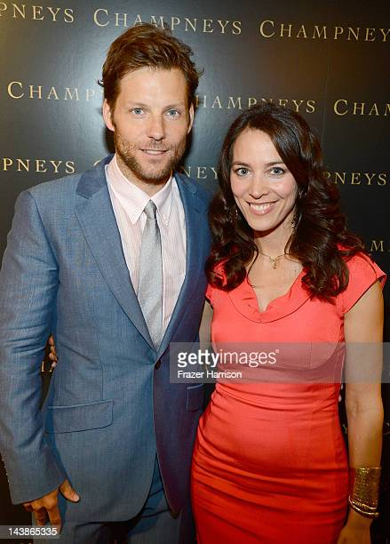 Jamie Bamber and Kerry Norton attend BritWeek An Evening With Piers Morgan In Conversation With Jackie Collins benefiting Children's Hospital Los...