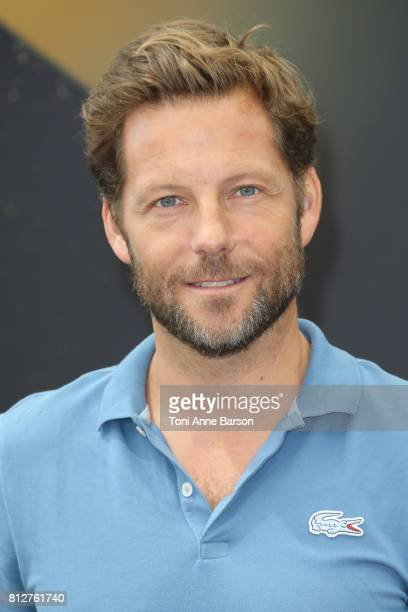"""Jamie Bamber attends """"Fearless"""" photocall on June 19, 2017 at the Grimaldi Forum in Monte-Carlo, Monaco."""