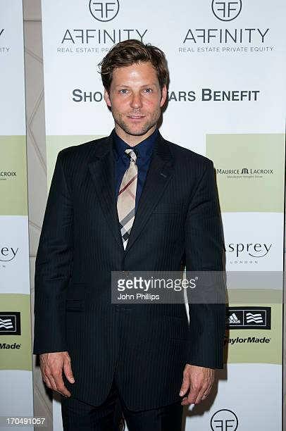 Jamie Bamber attends the Affinity Real Estate Shooting Stars Benefit Welcome Pairing Dinner at Asprey, New Bond Street on June 13, 2013 in London,...