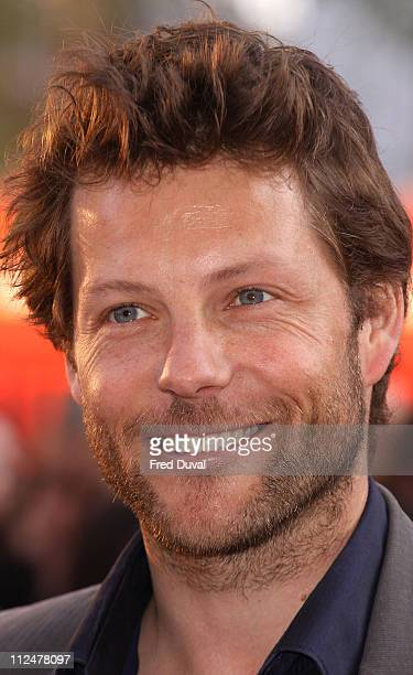 Jamie Bamber attends the World Premiere of 'State Of Play' at The Empire Cinema, Leicester Square on April 21, 2009 in London.