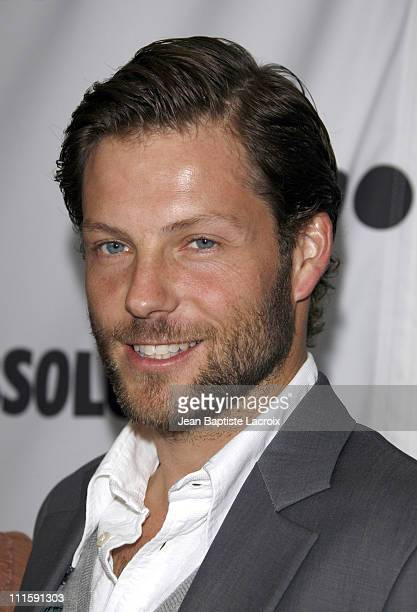 Jamie Bamber during 18th Annual GLAAD Media Awards Los Angeles Arrivals at Kodak Theatre in Hollywood California United States