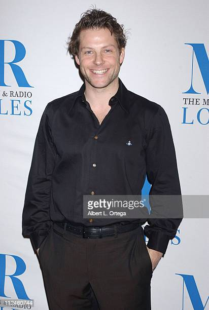 """Jamie Bamber during The Museum of Television & Radio Presents The 23rd Annual William S. Paley Television Festival - """"Battlestar Galactica"""" at The..."""